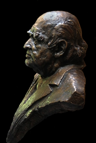 Klein (opdracht) -brons-