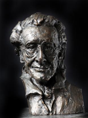 Harry Mulisch -brons-