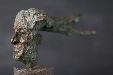 Wachter -brons-
