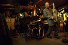 Menno Veenendaal en Rinus Groeneveld in Jazzcafé De Otter Loosdrecht