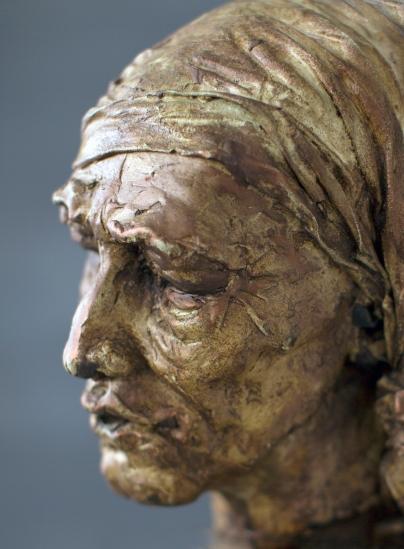 Ontheemd -brons-