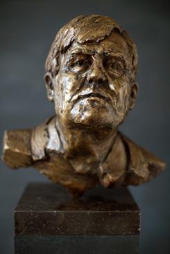 Koningsbeeld -brons-